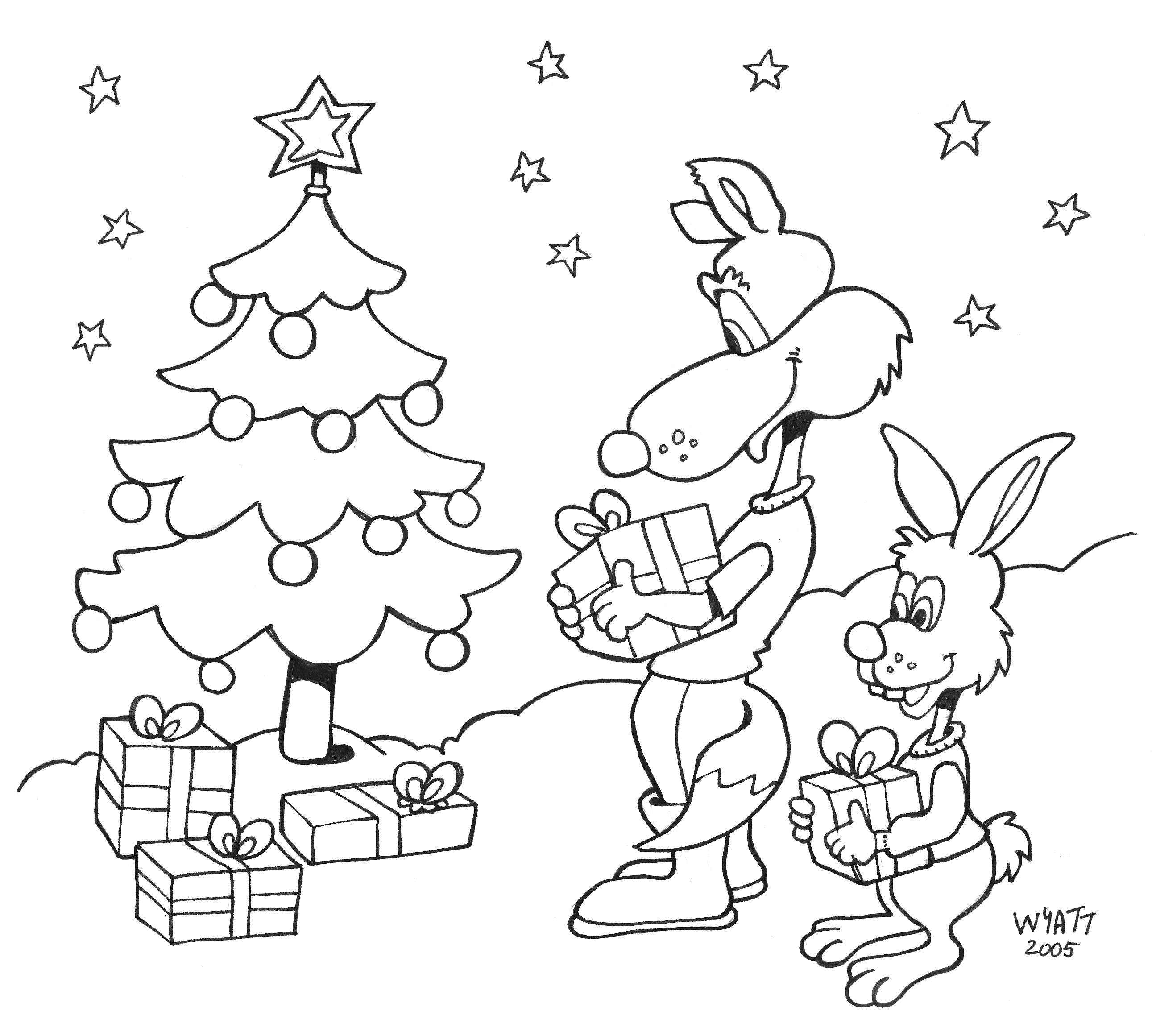 christmas colouring downloads